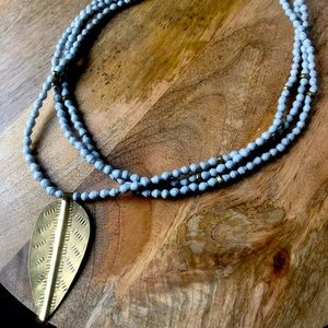 Akola brand necklace, made in Uganda